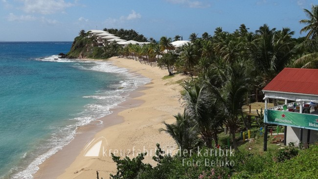 Curtain Bluff Resort an der Carlisle Bay