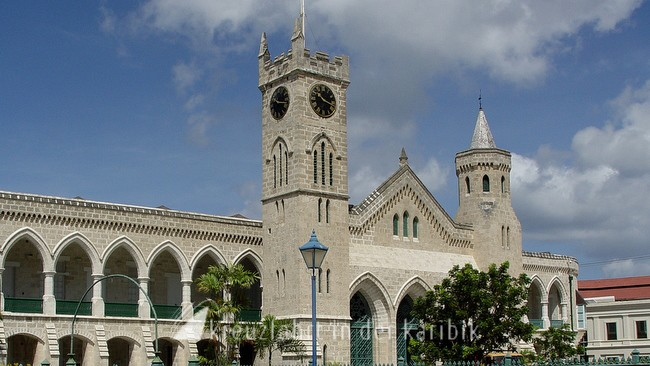 barbados bridgetown die parliament buildings