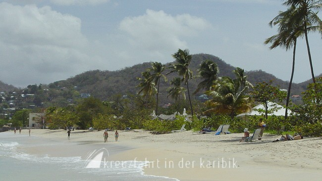Idylle am Grand Anse Beach