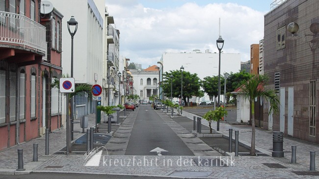 Fort-de-France – Rue Jacques Cazotte