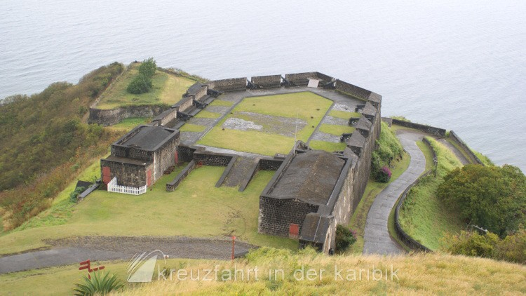 Brimstone Hill Fortress - Prince of Wales Bastion